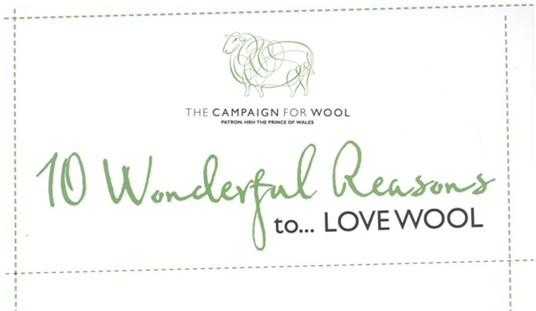 10 Wonderful Reasons to LOVE WOOL – The Campaign For Wool